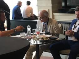Enzo Raiola e Stefano Capozucca lavorano per Pinamonti al Frosinone