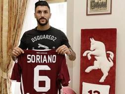 Roberto Soriano, centrocampista del Torino in prestito dal Villarreal. LaPresse
