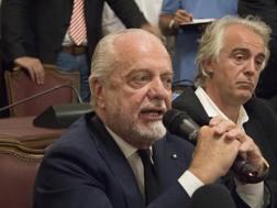 Aurelio De Laurentiis, 69 anni, LaPresse