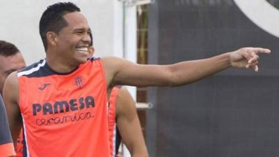 Villarreal, Bacca si allena Ora manca solo l'ufficialità