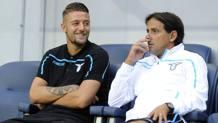 Sergej Milinković-Savić, 23 anni e Simone Inzaghi, 42. Getty