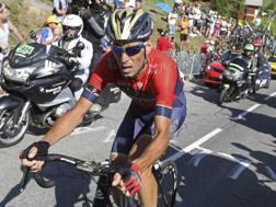 Vincenzo Nibali, 33 anni, ha vinto la Vuelta nel 2010. Ap