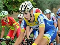 Michael Antonelli, sammarinese di 18 anni, prima stagione nella categoria Under 23