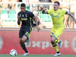 Chievo-Juve anticipo della prima giornata della Serie A. Afp