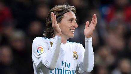 Luka Modrić, centrocampista del Real Madrid. Afp
