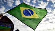 La bandiera del Brasile. Lapresse