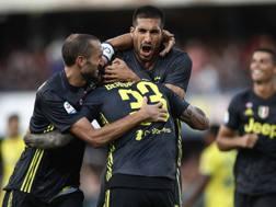 Il gol di Bernardeschi ha regalato tre punti alla Juve. Afp