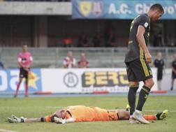 Sorrentino e Ronaldo. ANSA