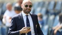 Il d.s. del Torino, Gianluca Petrachi. LaPresse