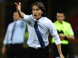 Filippo Inzaghi, allenatore del Bologna. Getty Images