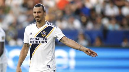 Zlatan Ibrahimovic, 36 anni, assente contro i Seattle Sounders. Afp
