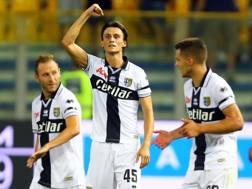 Roberto Inglese, 26 anni, autore del momentaneo 1-0 del Parma. Lapresse