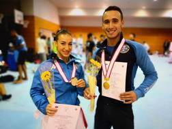 Francesco e Terryana D'Onofrio a Kobe (Giap), oro e argento ai Campionati Mondiali Universitari