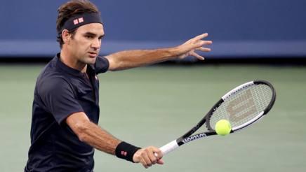 Roger Federer, 37 anni AFP