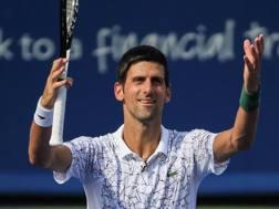 Novak Djokovic. Epa