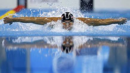Michael Phelps ha vinto 23 ori olimpici AP