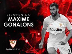 Maxime Gonalons, nuovo acquisto del Siviglia