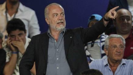 Aurelio De Laurentiis, 69 anni, presidente del Napoli. ANSA