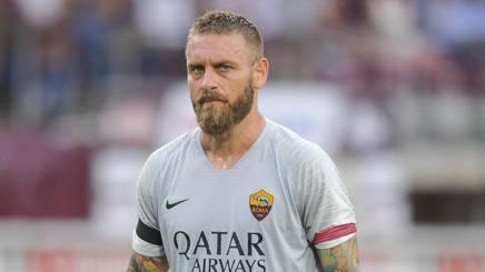 Daniele De Rossi, capitano della Roma. Lapresse