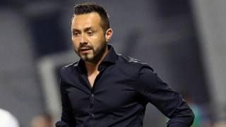 Roberto De Zerbi, allenatore del Sassuolo. Ansa