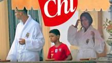 Cristiano Ronaldo e famiglia, in visita al Lago di Como. Chi