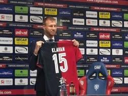 Ragnar Klavan, 32 anni, neo acquisto del Cagliari. Ansa