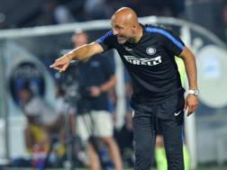 Luciano Spalletti, mister dell'Inter. Lapresse
