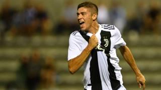 Luca Zanimacchia, attaccante della Juventus Under 23. Getty