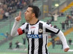Antonio Di Natale, 40 anni, con la maglia dell'Udinese. Lapresse