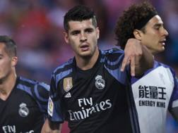 Alvaro Morata ai tempi del Real Madrid, AP