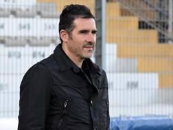 Cristiano Lucarelli, 42 anni, torna al Livorno da mister. Lapresse