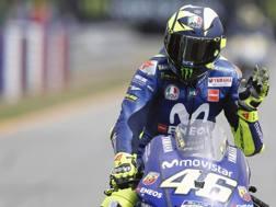 Valentino Rossi, nove titoli iridati. Ansa