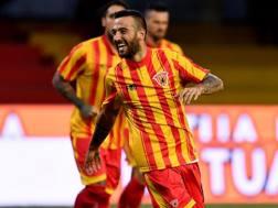 Roberto Insigne, 24 anni, esterno offensivo del Benevento. Lapresse