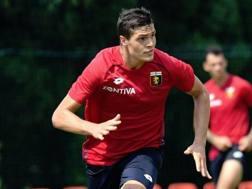 Andrea Favilli, attaccante del Genoa. Genoacfc