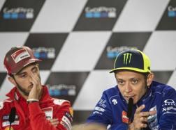 Andrea Dovizioso e Valentino Rossi. Ciam-Cast