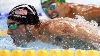 Michael Phelps, 33 anni. GETTY