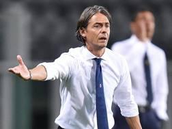 Filippo Inzaghi, 42 anni. ANSA