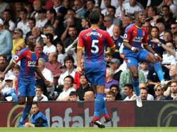 Il Crystal Palace contro il Fulham in Premier. Getty