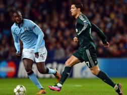 Yaya Touré sfida Cristiano Ronaldo