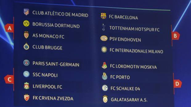 Calendario Della Champions League.Champions League Il Calendario Inter Debutto