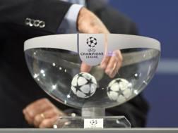 Sorteggiati i gironi della Champions League. Epa