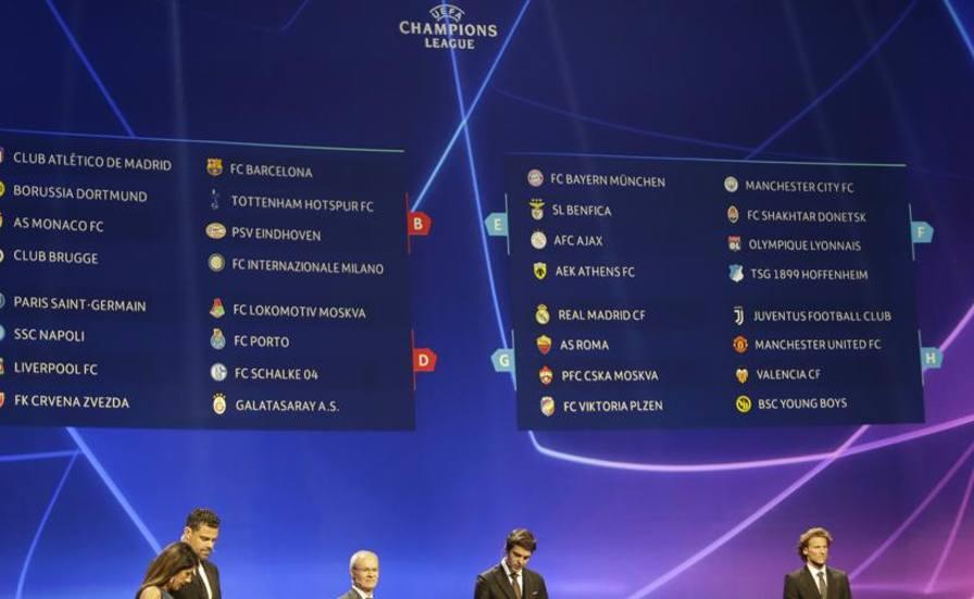 Calendario Partite Barcellona.Champions League Il Calendario Inter Debutto