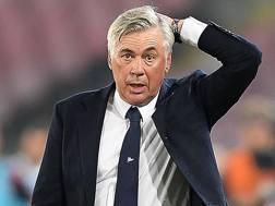 Carlo Ancelotti, 59 anni, allenatore del Napoli. Getty