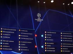 I gironi della Champions League 2018/2019. AFP