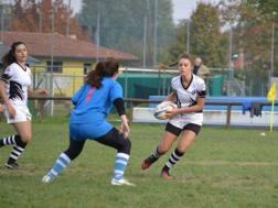 Irene Bovo, 18 anni, in azione