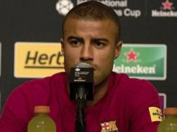 Rafael Alcântara, centrocampista del Barcellona. Getty