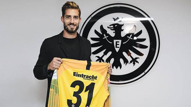 Kevin Trapp nuovo portiere dell'Eintracht. Fonte: eintracht.de