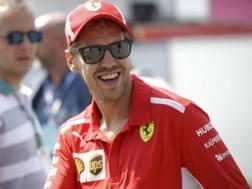 Sebastian Vettel. Ap