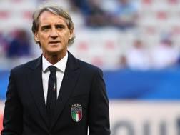 Roberto Mancini, c.t. della Nazionale. Afp