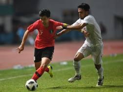 Son Heung-Min, 26 anni, centrocampista del Tottenham. Afp